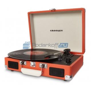 "Ретро-проигрыватель Crosley ""Cruiser Orange""-761732"