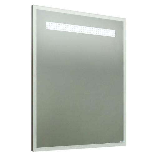Зеркало Runo Quatro 75, белое-6794445