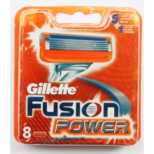 Gillette Fusion power 8 шт