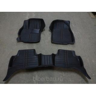 Кожаные автоковрики Mazda CX-7 чёрный 2006-2012-907137