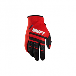 Мотоперчатки подростковые Shift Assault Race Glove red L (11785-003)