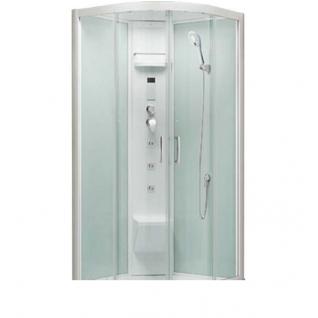 Передние стекла для душевой кабины Alvaro Banos Leon S90.20-V3 Blanco 1/4