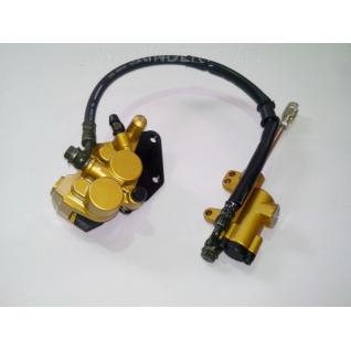 Задняя тормозная система в сборе (м-125сс)-1026013
