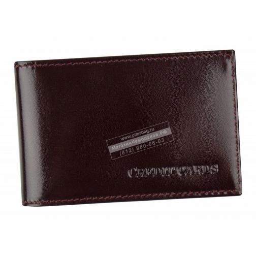Alliance Футляр д/кредитных карт Alliance 0-296 шик бордо-1392333