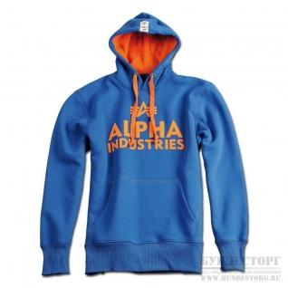 Alpha Industries Толстовка Alpha Industries Foam Print, цвет синий-5032254
