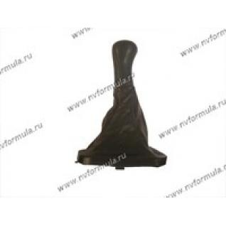 Ручка КПП 2110-12 кожа+чехол-432729