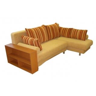 Палермо 1 угловой диван-кровать с боковиной - полкой-5271074