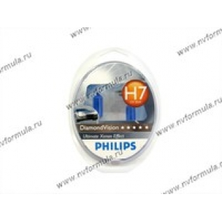 Лампа галоген 12V Н7 55W PX26d Philips DiamondVision 12972DVS2-415925