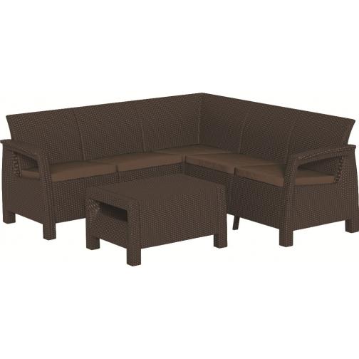 Мебель из ротанга Keter Corfu Relax Set (Корфу Релакс Сет) Keter-6783755
