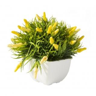 Декоративные искусственные цветы в горшке-7170119