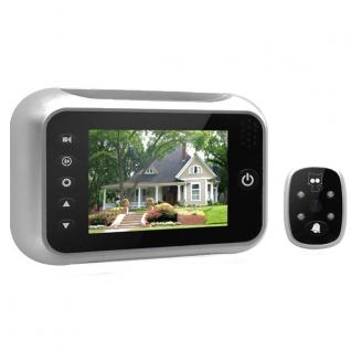 Видеоглазок в дверь с монитором и записью на SD карту SITITEK Simple-5006097