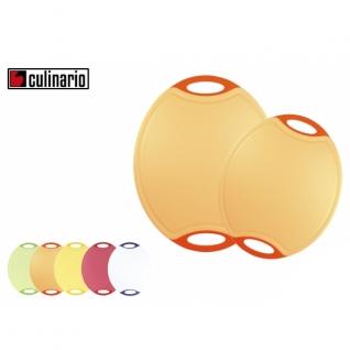 Кухонные разделочные доски Steuber GmbH Разделочная доска с антибактериальной защитой Microban® овал красная NW-CBM-O-R