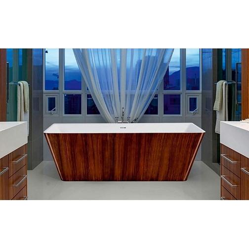 Отдельно стоящая ванна LAGARD Vela Brown wood 6944879 1