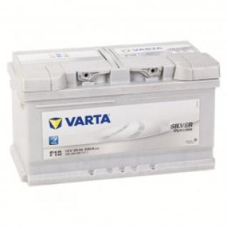 Автомобильный аккумулятор VARTA VARTA Silver F18 (85R) 800А обратная полярность 85 А/ч (315x175x175)-5789213