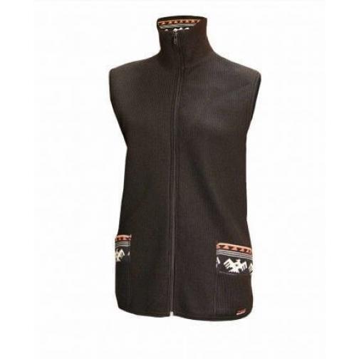 Жилет шерстяной с подогревом RedLaika Arctic Merino Wool RL-TW-07 женский черный-6440290