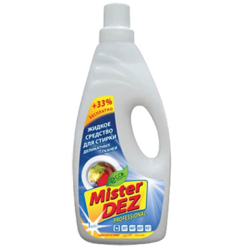 931-Mister DEZ PROFESSIONAL жидкое средство для деликатной стирки 1000 мл-6435013