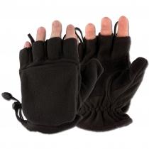 MFH Перчатки-варежки MFH флисовые, цвет черный