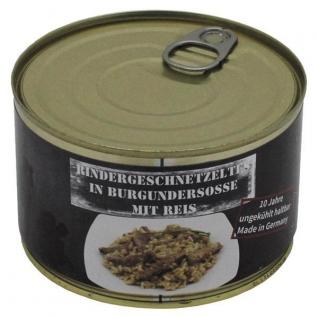 MFH Ломтики говядины в бургундском соусе с рисом MFH 400 г-8088232