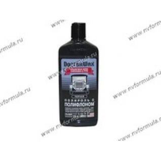 Полироль кузова Doctor Wax 8401 300мл с полифлоном черная-417964