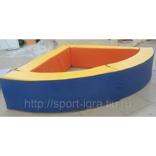 Сухой бассейн угловой 110х110х50 см-5350611