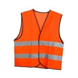 Жилет сигнальный на липучке с СОП цв. оранжевый-9216955