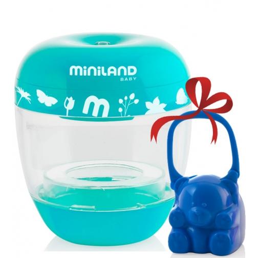 Стерилизатор Miniland Переносной стерилизатор Miniland On The Go + синий контейнер для сосок-1962666