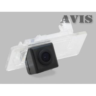 CCD штатная камера заднего вида AVIS Electronics AVS321CPR (#134) для SKODA SUPERB II (2013 - ...)/ OCTAVIA A7 (2013-...)/ RAPID (2014-...)