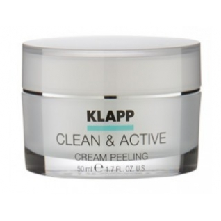 Klapp Cream Peeling (CLEAN ACTIVE) - Крем-пилинг для лица-4942267