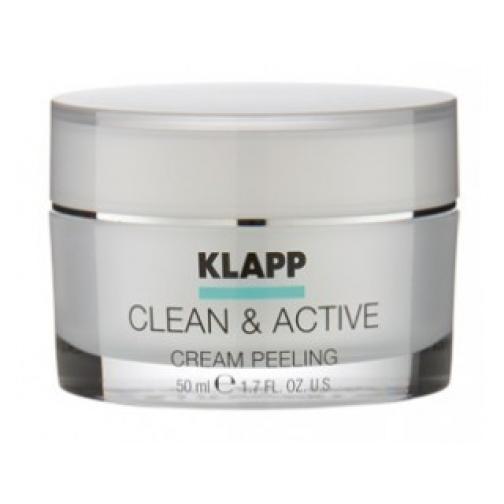 Klapp Cream Peeling (CLEAN ACTIVE) - Крем-пилинг для лица-4942267