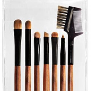 Профессиональные кисти для макияжа - Набор JEANS из 7 кистей для макияжа глаз и бровей 7-04-2147858