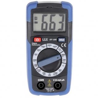Карманный цифровой мультиметр СЕМ DT-105-6766008