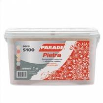 Декоративное покрытие Парад Деко S100 Пиетра коралл /7,0 кг/
