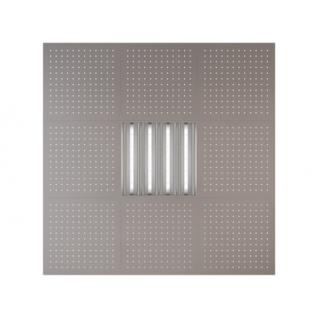 Потолочная плита Presko Клио 59.5х59.5 металлик