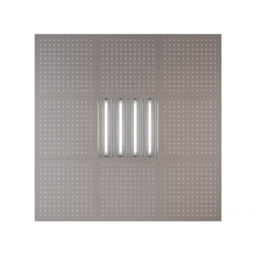 Потолочная плита Presko Клио 59.5х59.5 металлик-6768521