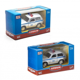 "Масштабная модель автомобиля ""Лада 2121"" - Полиция, 1:50 Play Smart-37716453"
