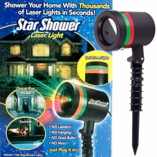 Лазерный проектор Star Shower-6892785