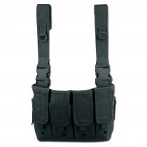 Mil-Tec Нагрудник Mag Carrier, цвет черный
