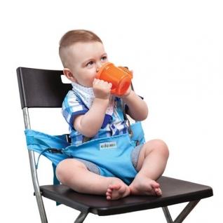 Стульчик-чехол для кормления, голубой Жирафики-37732448