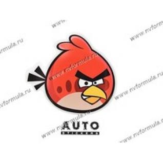 Наклейка Angry Birds красная 15,5x14-431428