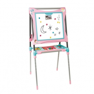 Детский мольберт-трансформер, розовый, 60 предметов Smoby-37721634