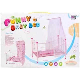 Мебель Для Кукол, Кровать Металл. С Покрывалом Cs812a-37794099