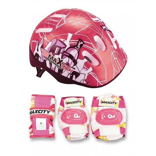 Набор защиты для детей MaxCity Baby City (красный)-5999640