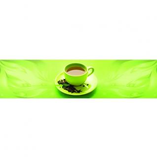Фартук для кухни Зеленый чай 600х2440мм-37623221