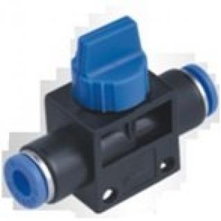 Фитинг для пластиковых трубок с краном 12х12мм Partner-6003587