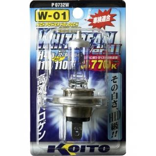 Лампы KOITO H4 Whitebeam 3 12V 60/55W 110/110 3770K 1 шт. P0732W-9065439