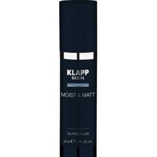 Klapp MOIST & MATT Oilfree Fluid (Men) - Увлажняющий и матирующий флюид