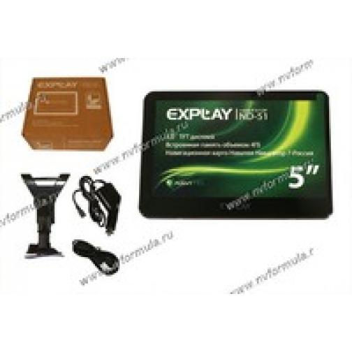 Навигатор GPS Explay ND-51 диагональ 127мм Навител-429913