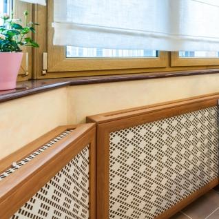 Декоративный экран с коробом Квартэк клио 620*1200*160(200) мм (пепел, белый, клен, дуб, бук, вишня, орех, махагон, венге)-6769365