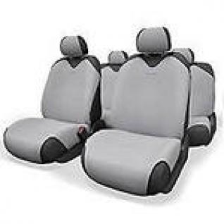 Nissan Almera IV / Ниссан Альмера IV седан 2012- Чехлы майки AUTOPROFI R 1 Sport светло-серые-433856