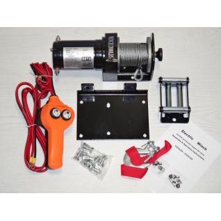 Лебедка автомобильная ATV Electric Winch 12v 2000 LBS-1975875